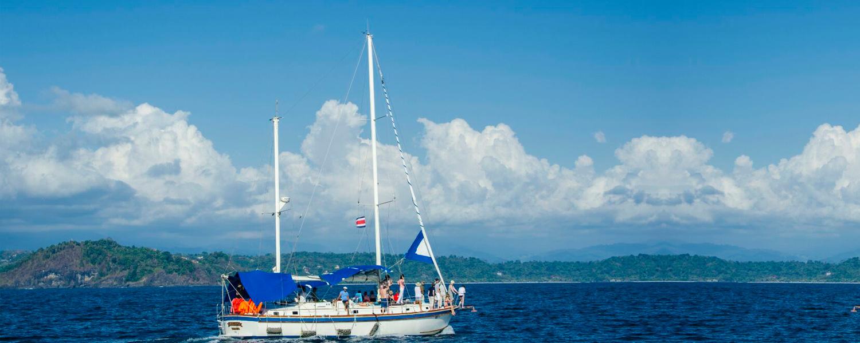 Sailing in Manuel Antonio Costa Rica