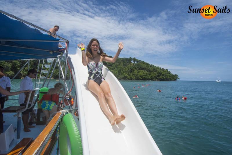 catamaran tour manuel antonio costa rica